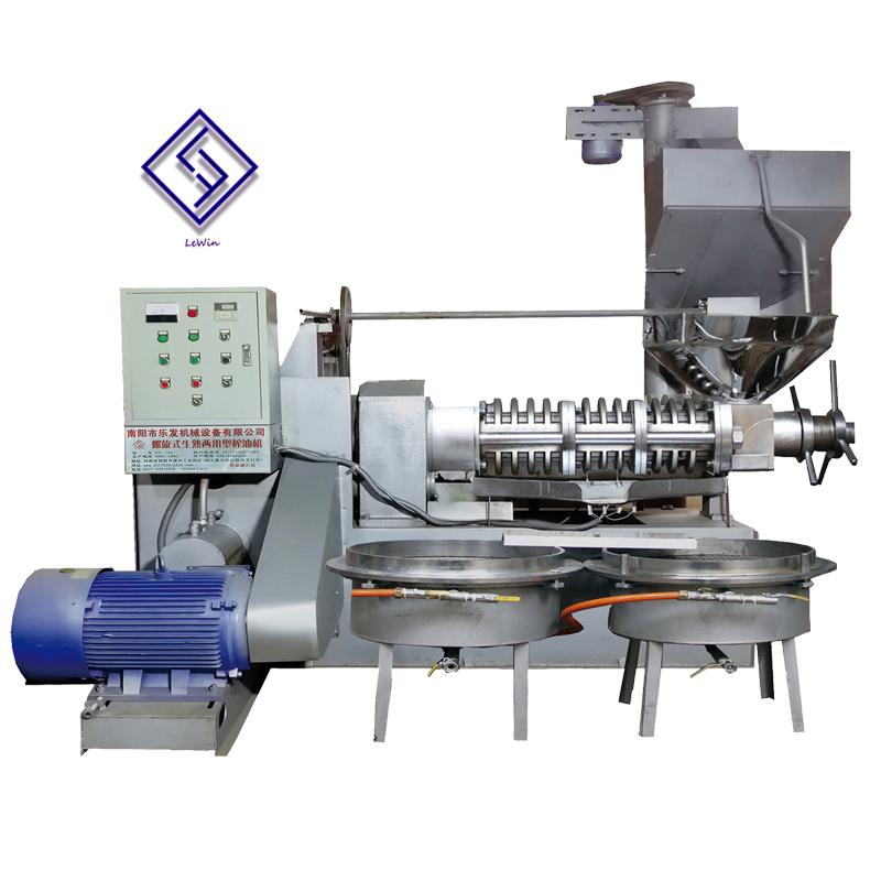 6YL-160 screw oil presser